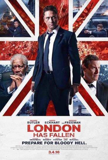 伦敦陷落 London Has Fallen (2016)