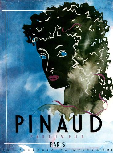 1940s UK Pinaud  Magazine Advert