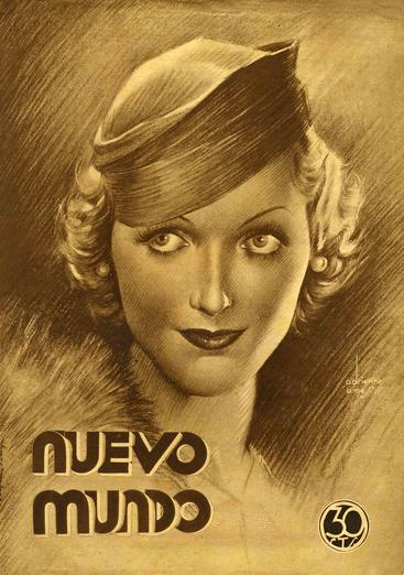1930s Spain  Nuevo Mundo portraits womens hats cc