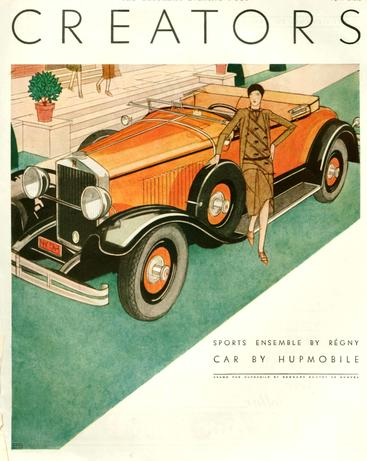 1920s USA Hupmobile Magazine Advert