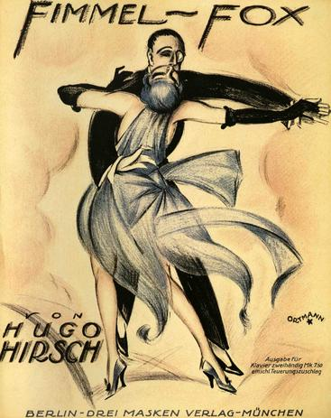 1920s UK Fimmel Fox Sheet Music Cover