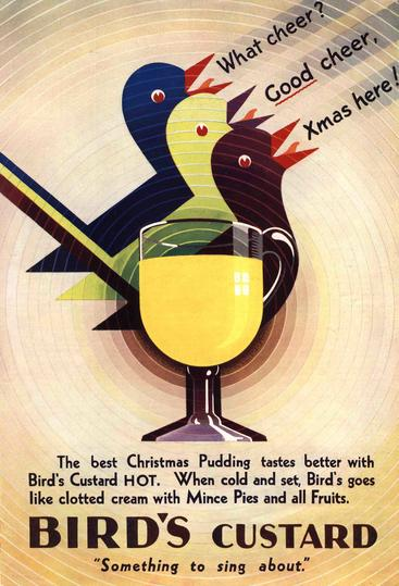 1930s UK Bird Custard