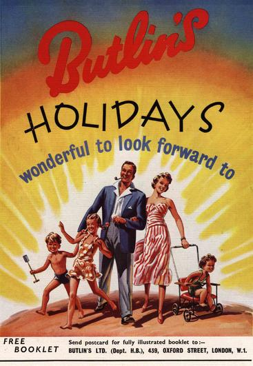 1950s UK holidays butlins
