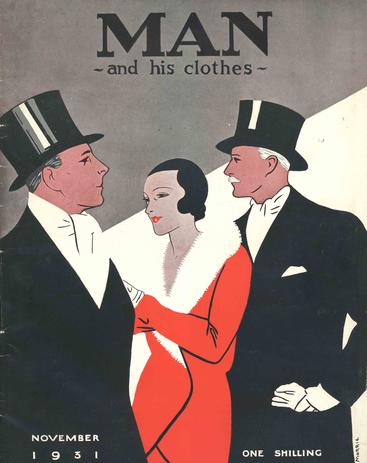 1930s UK mens magazines clothing clothes