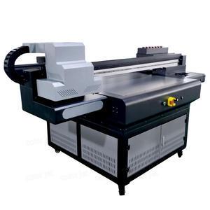 CJ A1 UV Printer With Varnish For Acrylic Glass Mug With Rotary