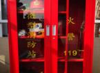 安全帽柜子及消防器材展示柜