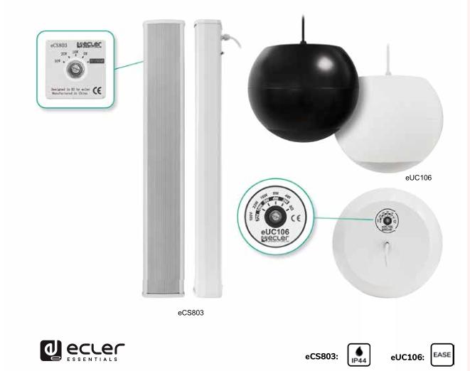 ECLER(艺格)特制音箱