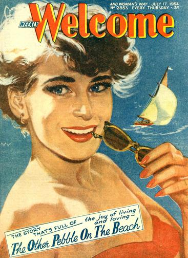 1950s UK Weekly Welcome Magazine Cover