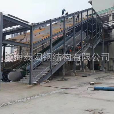 新庄地铁站钢结构