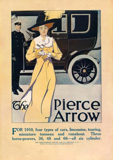 1910s USA Pierce-Arrow Magazine Advert