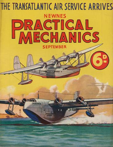 1930s UK Practical Mechanics Magazine Cover