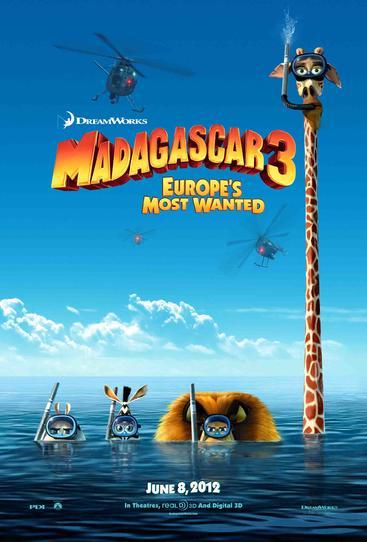 马达加斯加3 Madagascar 3 Europe's Most Wanted (2012)