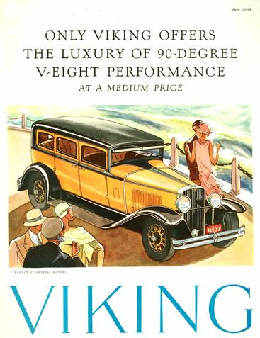 1920s USA Viking Magazine Advert