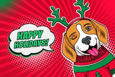 节日快乐 Happy Holidays