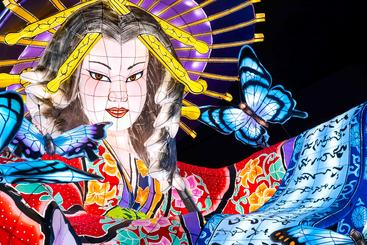 日本青森 星云节 Nebuta festival Aomori Japan