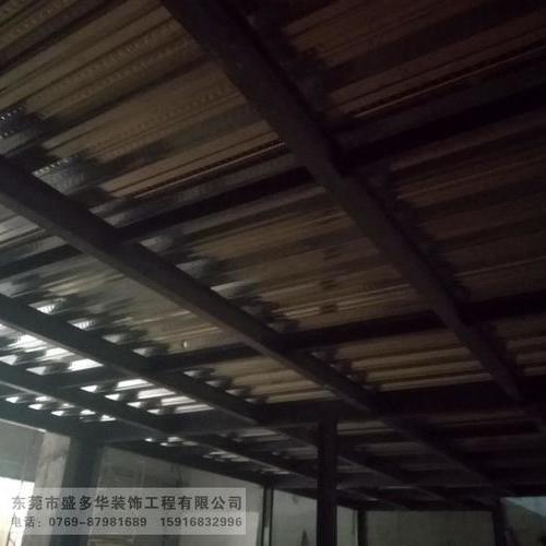搭建钢结构隔楼工程