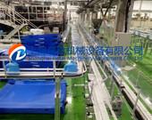 日化塑料瓶输送线 柔性链输送机