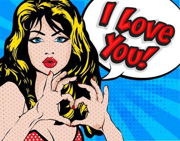 爱你 Love you