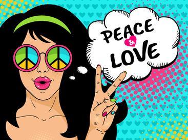 爱与和平 Peace and love