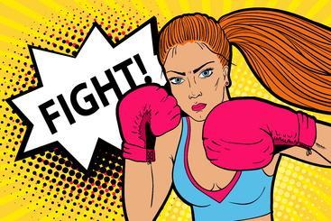 女拳击手 Woman boxer__S0300012SSK