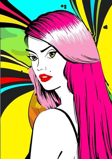 女性肖像 Woman portrait