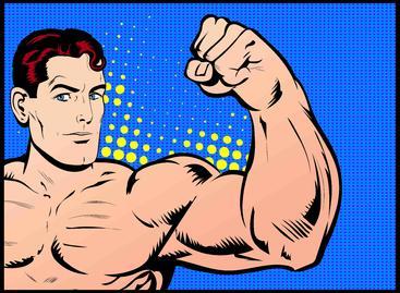 肌肉男 Muscle men
