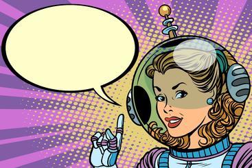 女宇航员 Woman Astronaut