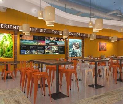 三亚CaLiBurger汉堡店设计 | 海棠湾海昌梦幻海洋不夜城