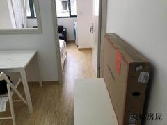 带阳台 朝南 一房一厅,宜家家居全新 家电全新。