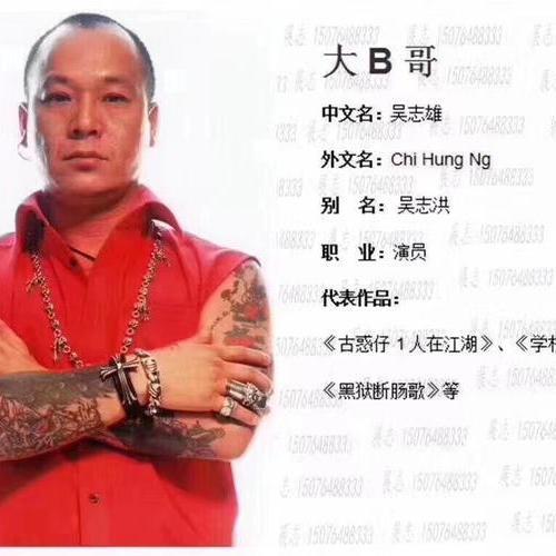 香港明星 大B哥