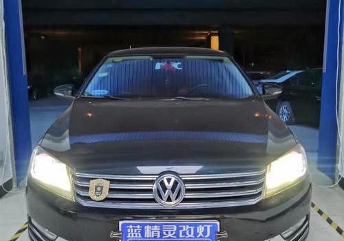 长沙改灯 迈腾升级LED车灯  升级四透镜大灯