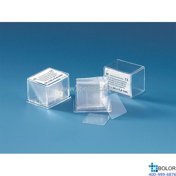 血細胞計數板專用蓋玻片,適用于血細胞計數板,硼硅酸鹽玻璃,22x30mm,符合IVD標準723016
