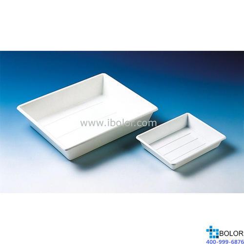 托盘(显影盘),PP材质,白色,可堆叠,840 x 645 x 160 mm 156650