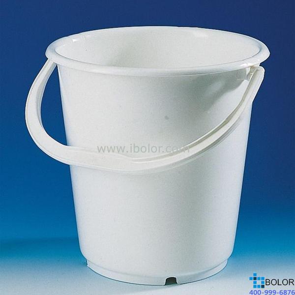 水桶,PE-HD材质,无盖,容量10 l,高度300 mm 71774