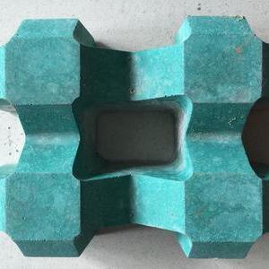 上海中砼pc砖 井字型砖