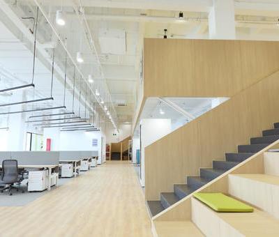 上海奉贤办公空间设计 | 蓝信空间设计