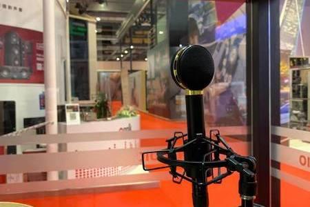 上海進博會丹拿展臺Audix scx25a電容話筒備受矚目