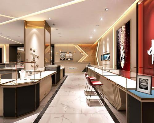 珠宝店设计最注重的就是风格了,所以在选择设计师的时候要格外重视设计师的专业性