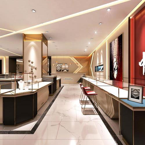 珠宝店设计*注重的就是风格了,所以在选择设计师的时候要格外重视设计师的专业性