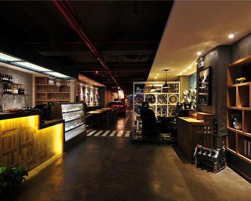 奶茶店设计,咖啡店设计装修新颖的风格吸引大众的目光