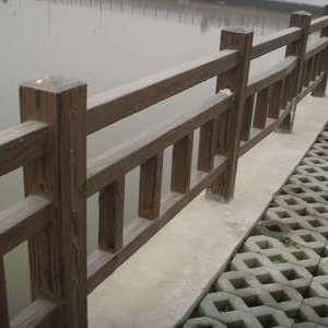 上海混凝土仿木桩
