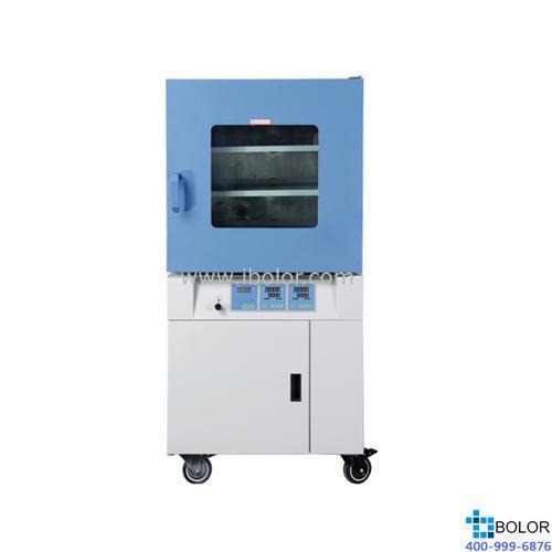 真空干燥箱-微电脑控制(带定时) 内胆尺寸(mm)450×450×450;控温范围RT+10~200℃;DZF-6090