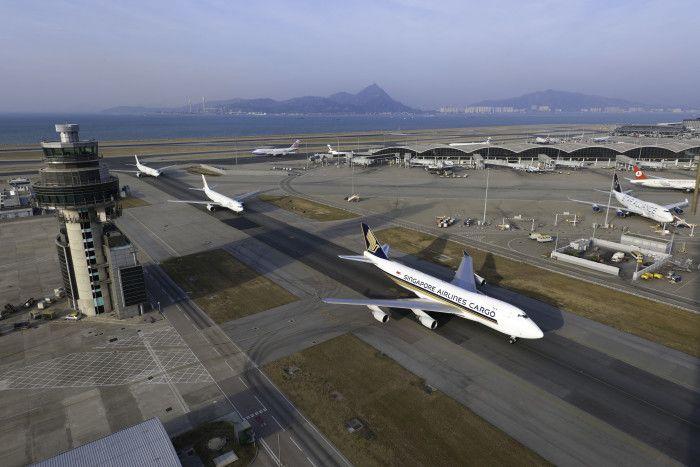 上海机场空运