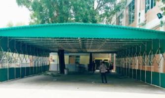 上海沁腾:推拉活动雨棚的定制使用及使用效果如何?