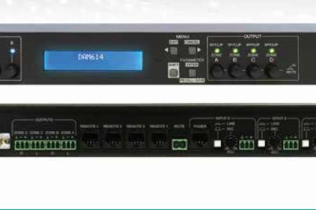 藝格DAM614數字調音臺可作為立體聲耦合輸入嗎?