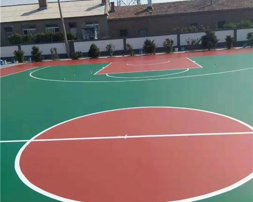 上海小区硅pu篮球场