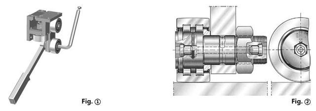 重载扁导轨齿条传动系统的安装方式