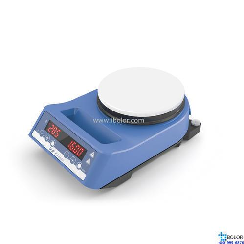 磁力攪拌器,艾卡,RH數顯型,帶白色陶瓷涂層,速度范圍:100-2000rpm,最大攪拌量:15L
