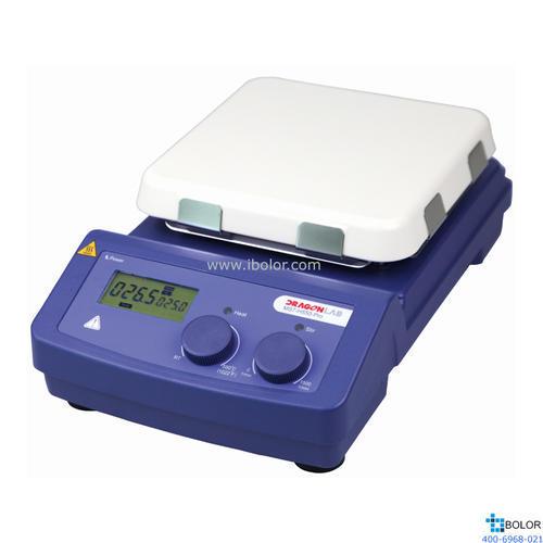 大龍 LCD數控加熱型7寸方盤磁力攪拌器 MS7-H550-Pro