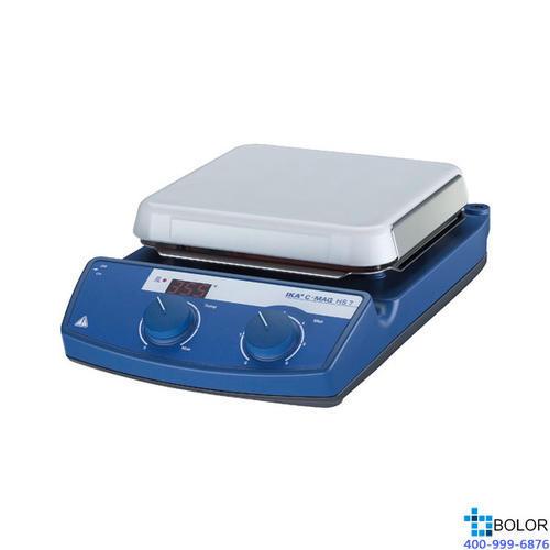 磁力搅拌器套装,艾卡,C-MAG HS7数显加热型套装,控温范围:50-500℃,搅拌量:10L